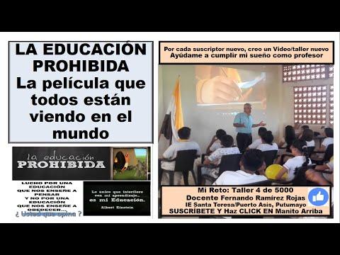 la educación prohibida Resumen de 5 minutos  para estudiantes, profesores, padres, madres,
