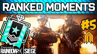 RAINBOW SIX SIEGE RANKED MOMENTS #5 - Diamond Ranked Squad