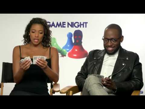 Lamorne Morris & Kylie Bunbury  Game Night