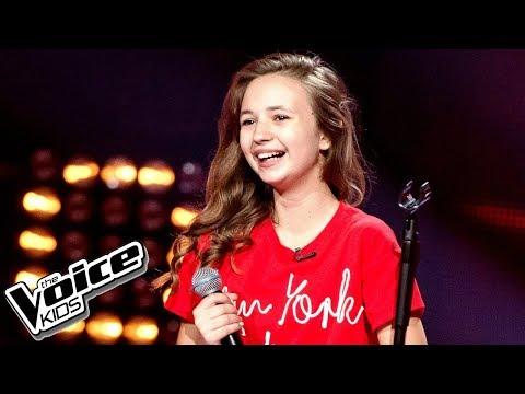 Anna Dąbrowska - 'Hurt' - Przesłuchania w ciemno - The Voice Kids Poland 2
