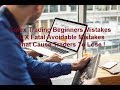 Forex for Beginners Why Most Traders Lose 10 Fatal Mistakes