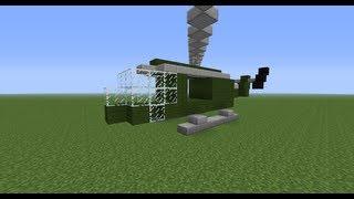 машины в minecraft - Вертолет