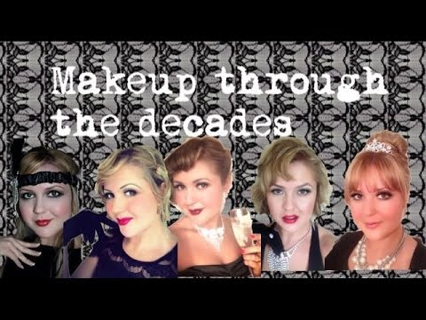 Makeup through the Decades // Audrey Copping