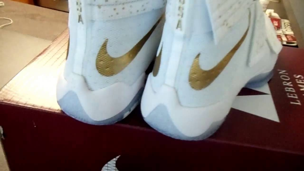 pretty nice 6caa6 7a0c2 lebron soldier 10 gold medal SFG LMTD USA
