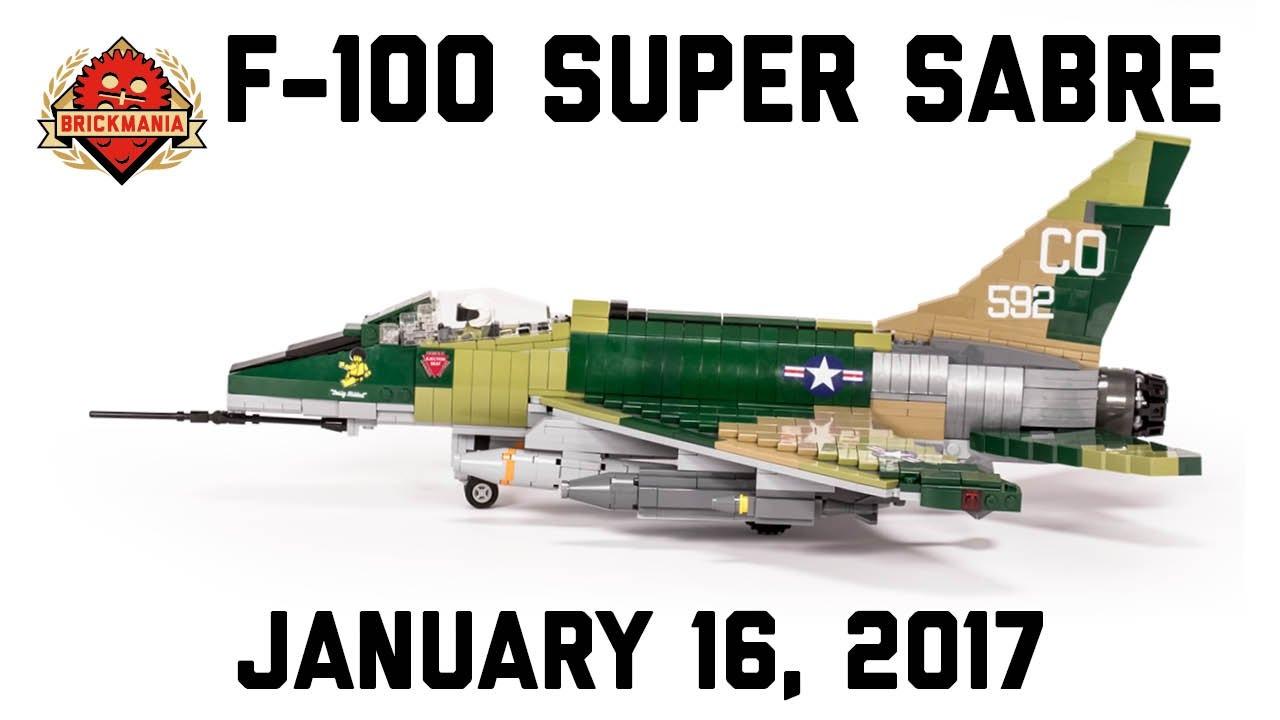 F-100 Super Sabre - Custom Military Lego