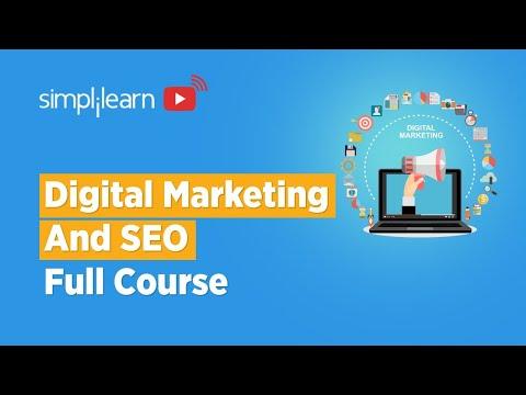 Digital Marketing And SEO Full Course | Digital Marketing SEO Tutorial For Beginners | Simplilearn