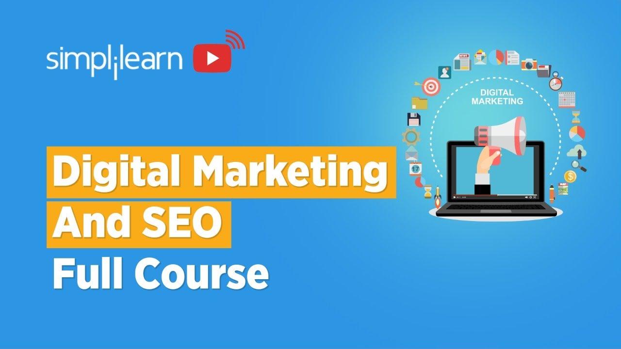 Digital Marketing And SEO Full Course   Digital Marketing SEO Tutorial For Beginners