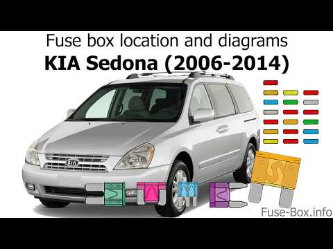 [DIAGRAM_0HG]  Fuse box location and diagrams: KIA Sedona (2006-2014) - YouTube | 2002 Sedona Fuse Box |  | YouTube