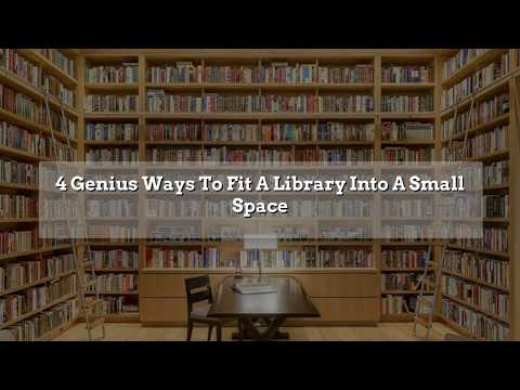 Home extensions Perth: 4 Genius Ways To Fit A Library Into A Small Space