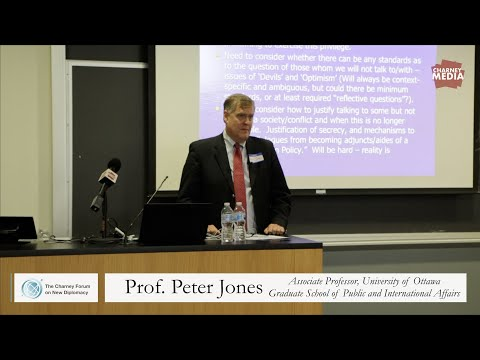 Prof. Peter Jones | The Rise of New Diplomacy