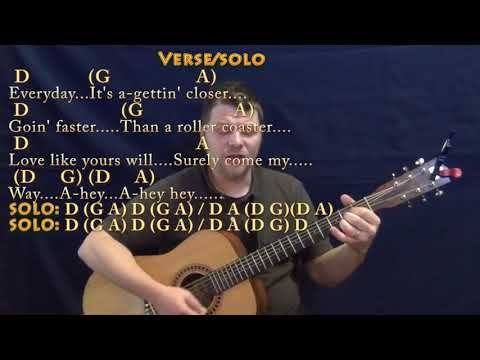 Everyday (Buddy Holly) Strum Guitar Cover Lesson in D with Chords/Lyrics