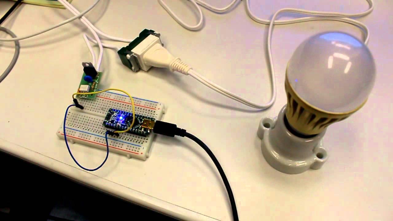 Led light ssr arduino youtube