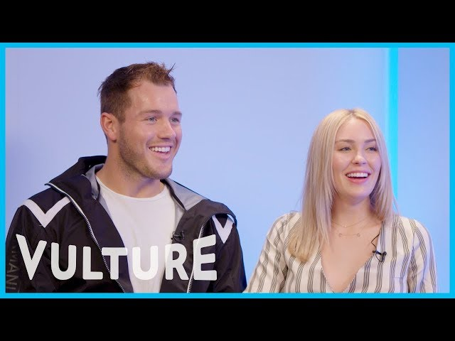 Colton Underwood and Cassie Randolph Also Think The Pattern Is Listening to Us