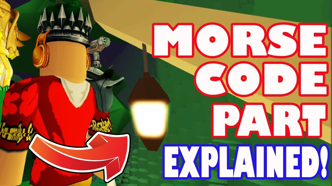 How To Decode Morse Code In Tree Light In Hexaria To Get The Crystal Key Roblox Ready Player One - saints roblox song id robux for free without downloading apps