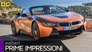 BMW i8 Roadster 2018 | Sfizio vestito da supercar (4K Video) [ENGLISH SUB]