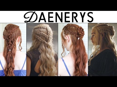 Game Of Thrones Season 6 Hair Tutorial - Daenerys Targaryen
