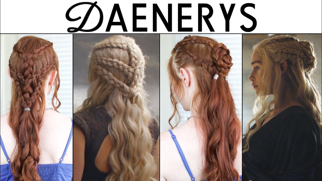 daenerys targaryen hair styles of thrones season 6 hair tutorial daenerys 4398 | maxresdefault