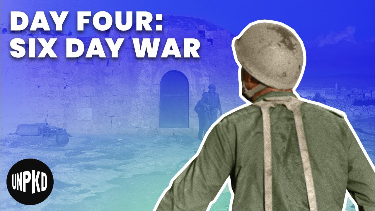 Day Four Of The War Six Day War Project