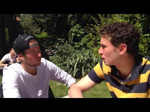Thomas Passchier interview Aaron