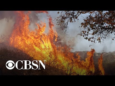 California wildfires driven by weather and climate conditions