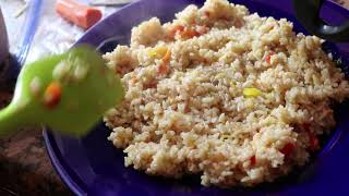 HOW TO MAKE FIT RICE FAST YUMMY / APRENDE
