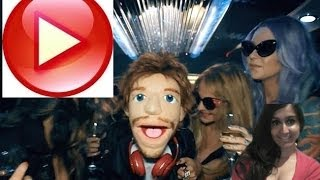 ed sheeran sing official video music song puppets and funny dancing video review
