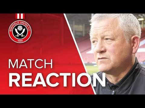 Chris Wilder's Ipswich reaction