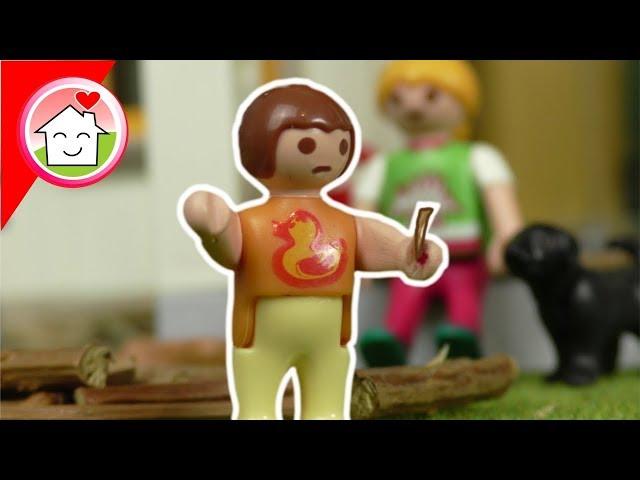 Playmobil Film deutsch - Anna und der Holzsplitter - Familie Hauser Spielzeug Kinderfilm