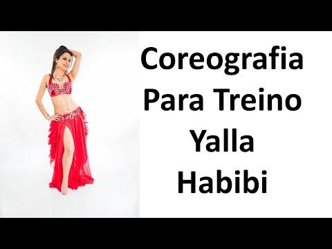 Coreografia Completa Para Treino Yalla Habibi Patrícia Cavalcante Dança do Ventre Online