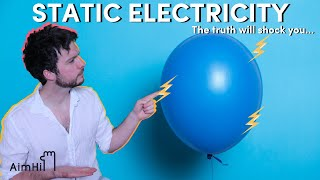 Electricity: How does Static Electricity work? // HiSchool Physics with Mathew