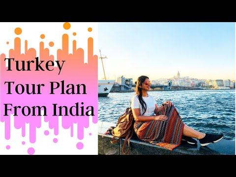 Turkey Travel Plan From India | Tour Plan For 7 Days In Hindi | Istanbul, Cappadocia Tour Vlog