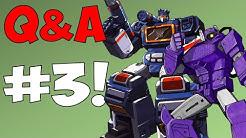 SOUNDWAVE OR SHOCKWAVE? (Q&A #3)