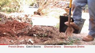 4 Common Rainwater Drainage Problems and How To Solve Them, Apple Drains, Charlotte NC
