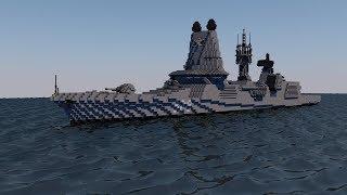 HQ 528 destroyer ship minecraft
