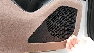 투싼 NX4 자동차 도어커버 부착방법 2열