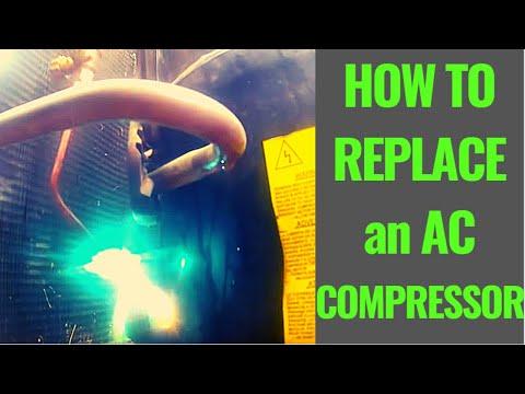 HVAC Service Call - Compressor Change Out - Sacramento Air Conditioning Repair