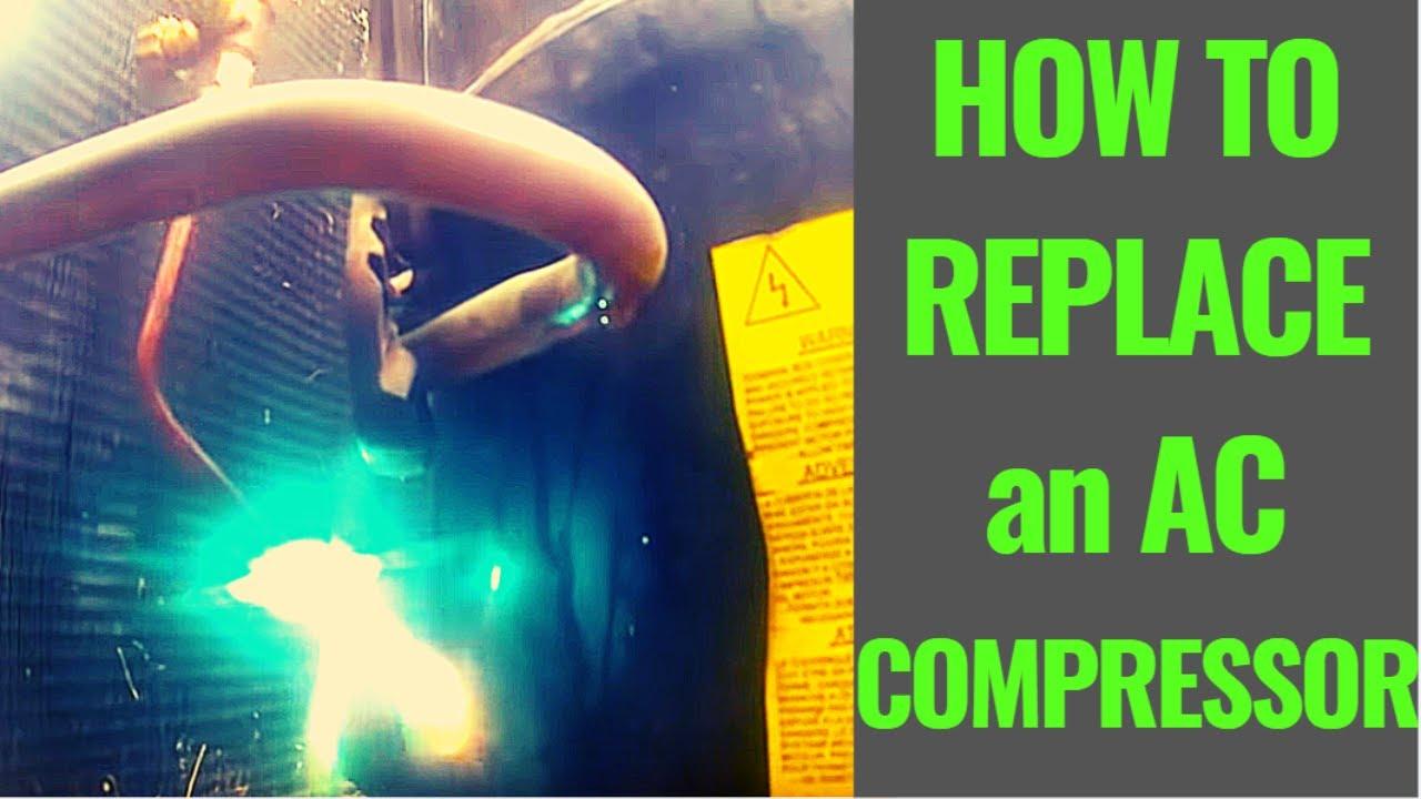 Hvac Service Call - Compressor Change Out