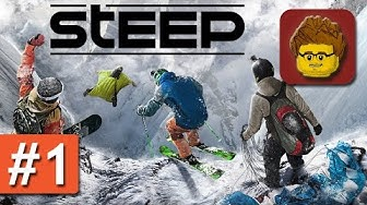 Steep - Beta #1 - Gameplay mit Snowboard, Ski, Paragleiter und Wingsuit - PC German