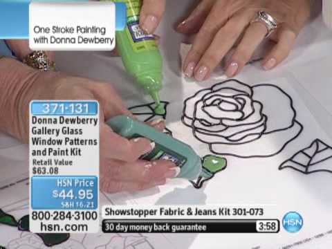 Donna Dewberry Gallery Glass Window Patterns and Paint K...