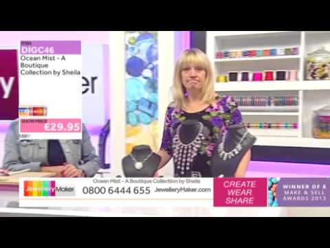 'How to Make Boutique-Style Beaded Jewellery': JewelleryMaker LIVE 21/08/2014