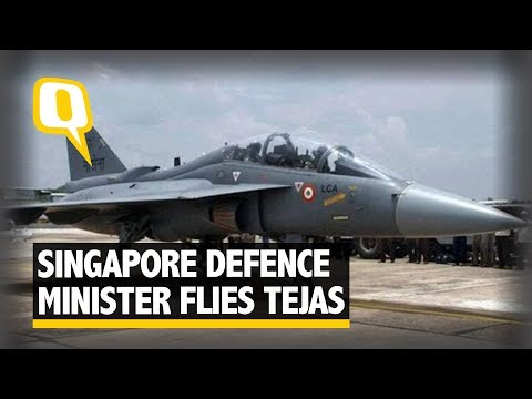 Tejas fighter jet 'very very capable': Singapore defence minister | The Quint