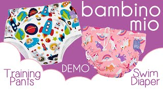 Bambino Mio Swim Diaper & Training Pants DEMO / REVIEW