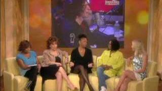Robin Quivers on The View April 14 2008