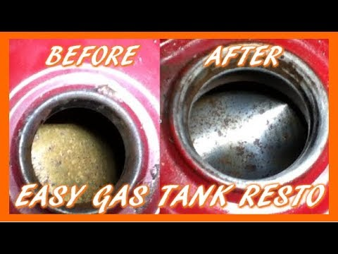 How To Restore A Gas Tank