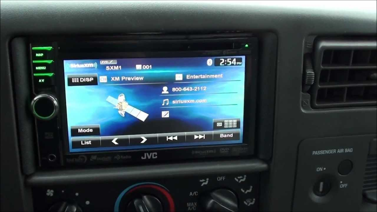 JVC stereo install - YouTube