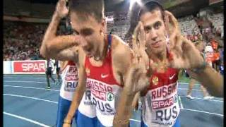 Euro Champs 2010 Men 4x400 relay