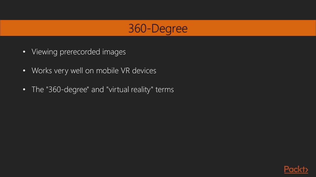 Unity Virtual Reality - Volume 2 : 360-Degree Media
