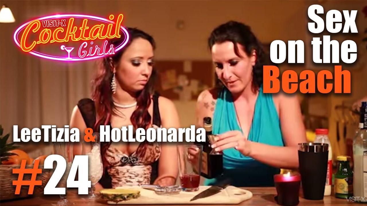 #24 LeeTizia und HotLeonarda mixen Sex on the Beach - YouTube