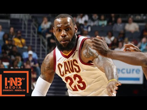 Cleveland Cavaliers vs Charlotte Hornets Full Game Highlights / March 28 / 2017-18 NBA Season