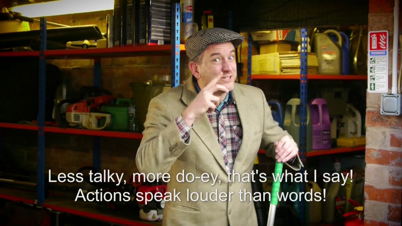 Your Actions Speak Louder Than Words: ACTIONS SPEAK LOUDER THAN WORDS! Christian Kids Songs